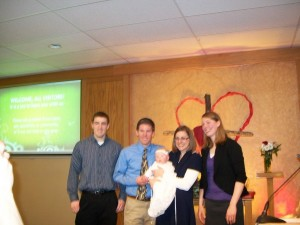 Addie Mae's baptism