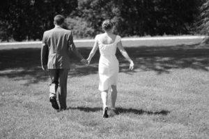wedding walking